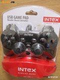 Joystick Game Pad Gamepad Controller Maneta PC INTEX - dual shock cu vibratii