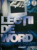 Lectii de WORD - Ana Vulpe, Alta editura