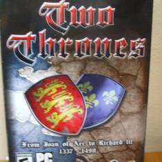 Two Thrones ( PC CD ROM) SIGILAT!!! (ALVio) + sute de alte jocuri PC originale, Strategie, Toate varstele