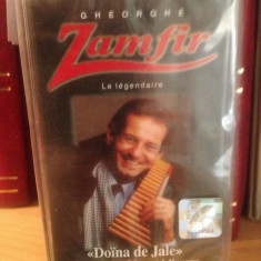 GHEORGHE ZAMFIR - DOINA DE JALE(2002/NOVA MUSIC - caseta originala/nou/sigilat - Muzica Pop electrecord, Casete audio