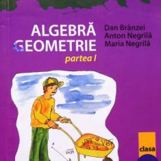 MATE 2000 +7/8 ALGEBRA. GEOMETRIE CLASA A VII-A - Negrila, Branzei (2 vol) - Culegere Matematica
