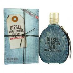 Parfum Original Men Diesel Fuel For Life Denim Collection 75 ml EDT 250 Ron TESTER - Parfum barbati Diesel, Apa de toaleta
