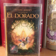 ELTON JOHN'S-THE ROAD TO EL DORADO(2000/UNIVERSAL) -caseta originala/nou/sigilat, Casete audio, universal records