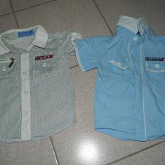 Set doua camasi baieti, 2-3 ani, marca Happy Tree. COMANDA MINIMA 30 LEI, Culoare: Albastru