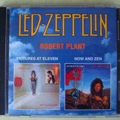 ROBERT PLANT (ex LED ZEPPELIN) - Pictures At Eleven\ Now And Zen - C D Original sub Licenta ca NOU