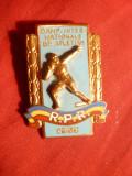 Insigna- Campionat International Atletism Romania 1953