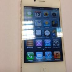 iPhone 4 Apple folosit doar 2 luni de zile, Alb, 8GB, Orange