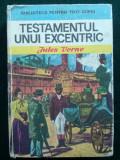 Cumpara ieftin Testamentul unui excentric - Jules Verne Ed. Ion Creanga 1974