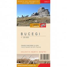 Schubert & Franzke Harta Muntii Nostri - Bucegi MN01