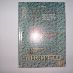 D OROS PROBLEME DE TROGONOMETRIE, R9 - Culegere Matematica