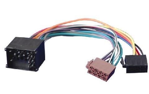 Cabluri mufe adaptoare adaptor Euro-Iso pentru radio casetofon CD auto BMW Land Rover Mini etc foto mare