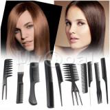 SET FRIZERIE COAFOR  10 PIEPTANI PIEPTAN PIEPTANE   PROFESIONALI, BeautyUkCosmetics
