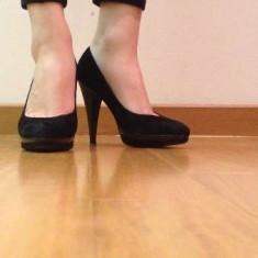 Pantofi Musette - Pantof dama, Culoare: Negru, Marime: 36