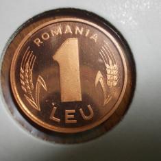 1 LEU 2003 BRILLIANT UNC PROOF ROTATIE DE MEDALIE EMISIUNE SPECIALA 1.000 EX