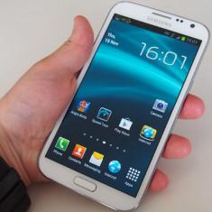 Samsung Galaxy Note II, alb stare foarte buna ! - Telefon mobil Samsung Galaxy Note 2, 16GB, Neblocat