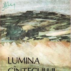 LUMINA CANTECULUI de IOSIF BACILA - Carte poezie copii