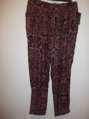 Pantaloni Zara matase naturala foto