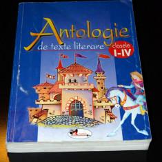 Antologie texte literare clasele I - IV, Ed. ARAMIS - Manual scolar Aramis, Clasa 4, Romana