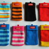 Husa tip soseta / saculet / ciorapel material textil elastic CHIC diverse culori, Albastru