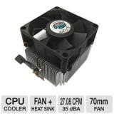 Vand Cooler ORIGINAL STOCK pentru procesor SOCKET AM2, Pentru procesoare, AMD