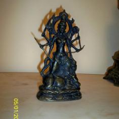 Statueta bronz masiv India - Arta din Asia
