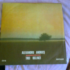 Disc Vinil ALEXANDRU ANDRIES - Trei Oglinzi (1989) - Muzica Folk