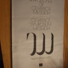 SIMPOZIONUL DE CERAMICA MEGIDIA - 1971 - 1976 - Album sculptura - Carte sculptura