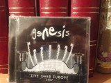 GENESIS - LIVE OVER EUROPE 2CD. ( 2007) -NOU/SIGILAT, CD, virgin records