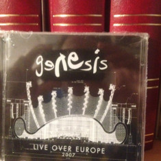 GENESIS - LIVE OVER EUROPE 2CD. ( 2007) -NOU/SIGILAT - Muzica Rock virgin records