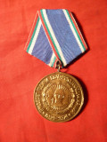 Medalie 30 Ani -Armata Bulgara 1974 , d= 3,6 cm
