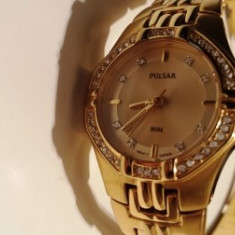 Ceas PULSAR oferta - Ceas dama Pulsar, Inox, Analog, Diametru carcasa: 27, 50 m / 165 ft / 5 ATM