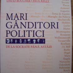 MARI GANDITORI POLITICI (All, 2008). Socrate, Aristotel, Platon, Machiavelli etc - Carte Politica