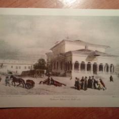 Litografie bucurest 12 iulie 1831
