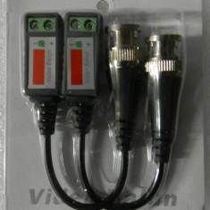Adaptor CCTV Video Balun Pasiv BNC TRANSMISIE UTP BALOON BALON
