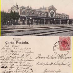 Ramnicu Sarat ( jud.Buzau ) - Gara - 1908