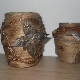 Set 2 vaze decorate manual