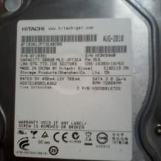 VAND HARD - Hard Disk Hitachi, 500-999 GB, Rotatii: 7200, SATA2