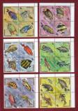 Burundi 1974 - Serie fauna  in bl. 4 - REDUCERE !!!!
