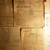 Diverse Acte Militare de incorporare, intrerupere studii 1938 - Pasaport/Document, Romania 1900 - 1950