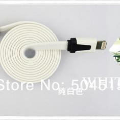 Cablu compatibil cu Apple/Iphone 5/5S/5C plat, IOS 9 - Cablu de date