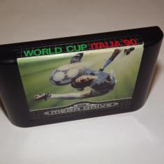 Joc SEGA Megadrive - World Cup Italia '90 - Jocuri Sega, Sporturi, Toate varstele, Single player