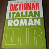 EGIDIO COREA - DICTIONAR ITALIAN  -ROMAN. EDITIA A 2-A, Alta editura