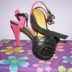 Sandale Esprit - Sandale dama Esprit, Culoare: Negru, Marime: 36