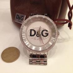 +++Ceas barbatesc Dolce & Gabbana D&G Prime Time Crystal Fashion Watch model DW0145+++, Quartz, Inox, Analog