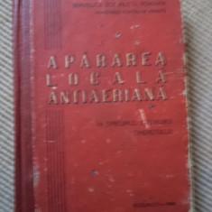 Apararea locala antiaeriana carte ilustrata