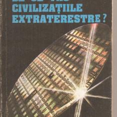 (C4418) DE CE TAC CIVILIZATIILE EXTRATERESTRE? DE DAN D. FARCAS, EDITURA ALBATROS, 1983