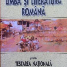 LIMBA SI LITERATURA ROMANA PENTRU TESTAREA NATIONALA - Costache, Ionita - Culegere Romana, Art