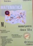 MATEMATICA MANUAL PENTRU CLASA A XII-A M1 - Marius Burtea, Georgeta Burtea, Clasa 12, Alta editura
