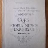 L. BRUMARU, G. CONSTANTINESCU - CURS DE ISTORIA MUZICII UNIVERSALE 1600 - 1750