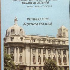 INTRODUCERE IN STIINTA POLITICA - Tantau ASE - Centrul de invatamant la distanta - Carte Politica